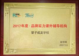 2017品牌实力课外辅导机构